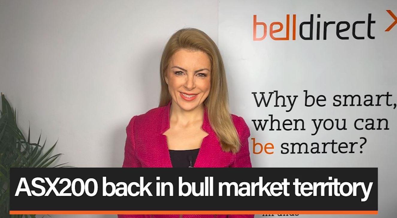 ASX200 back in bull market territory