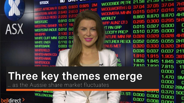 Three key themes emerge