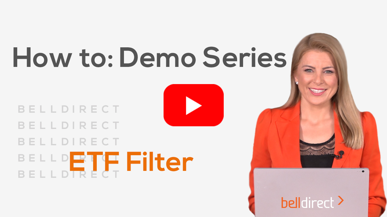 How to use Bell Direct's ETF Filter