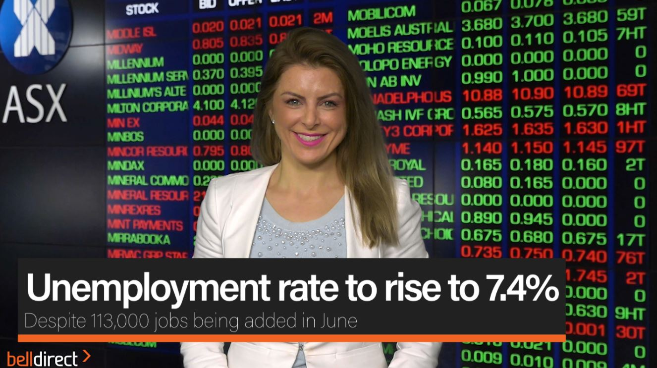 Unemployment rate to rise 7.4%
