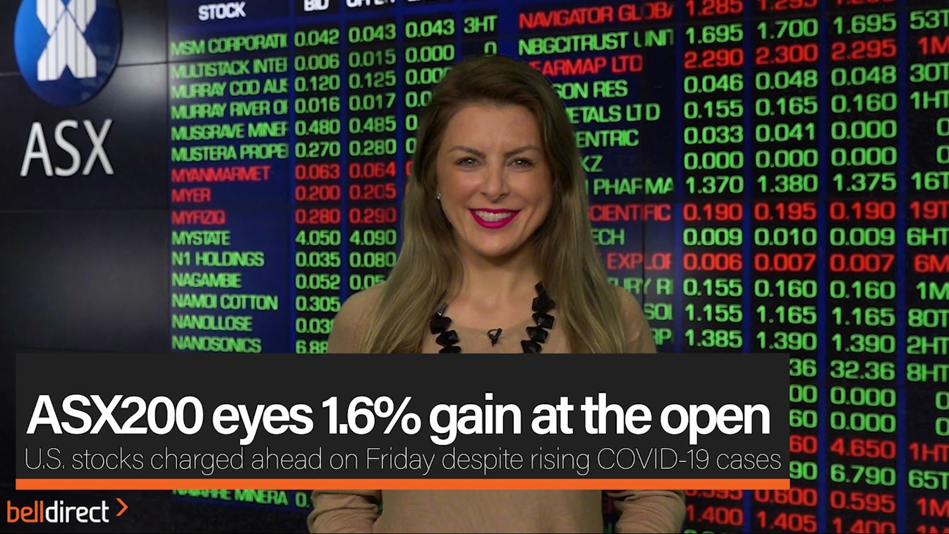 ASX200 eyes 1.6% gain at the open