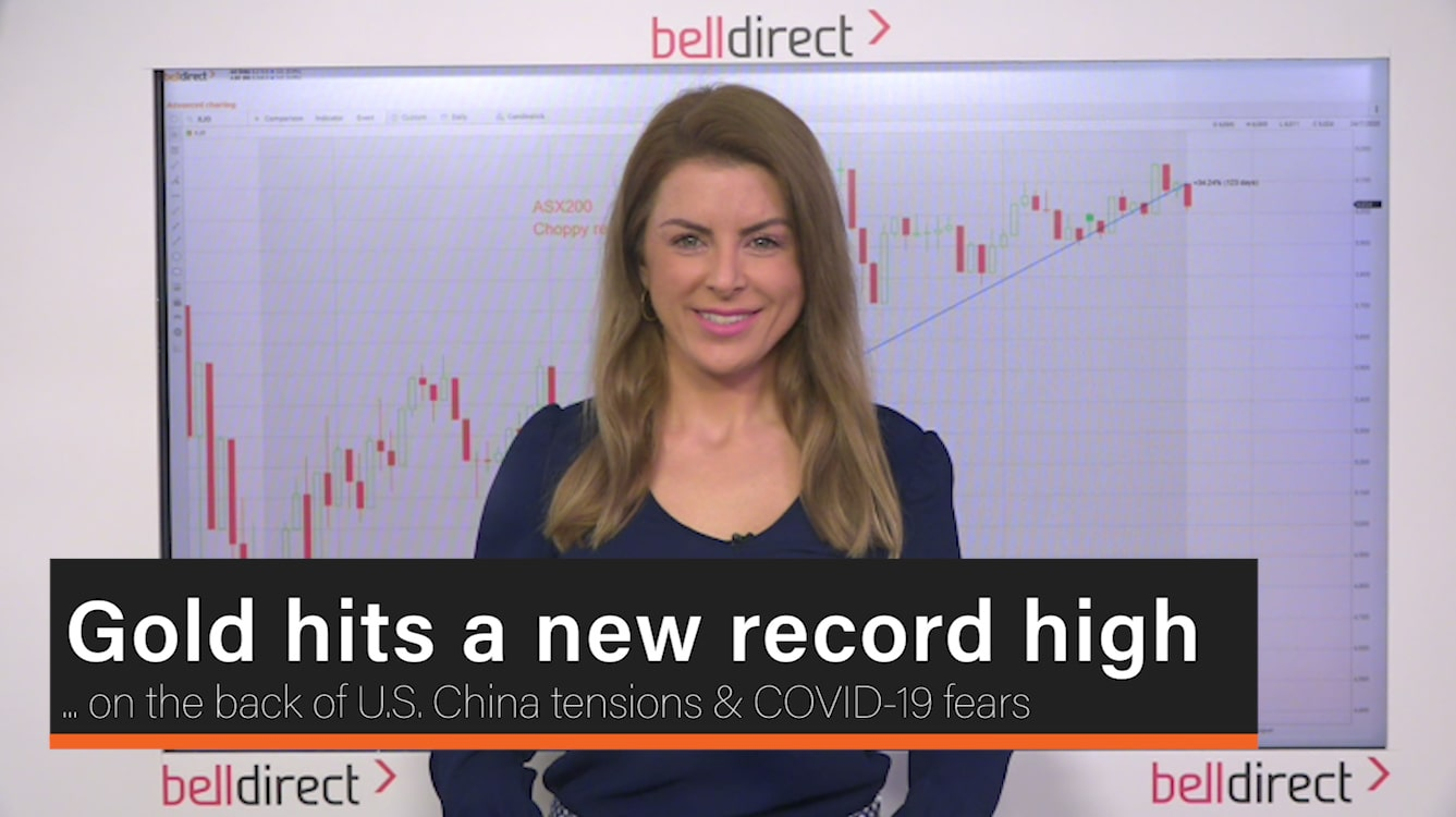 Gold hits a new record high